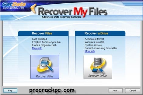 Recover My Files Serial Key 2020