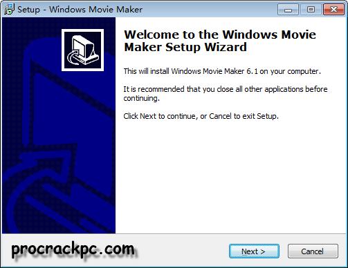Windows Movie Maker Registration Code, Windows Movie Maker Installation