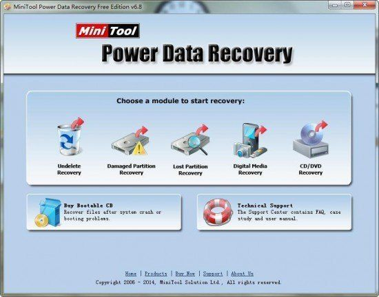 MiniTool Power Data Recovery Crack + Registration Code