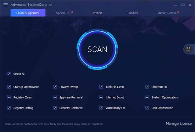 Advanced SystemCare Pro Crack With License Key