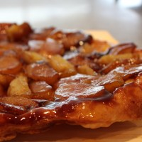Maple and Apple Tarte Tartin