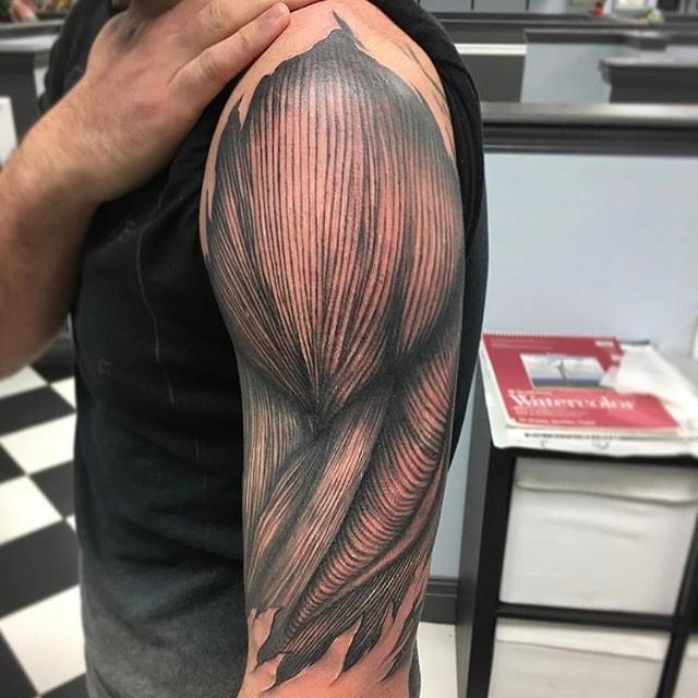 Tatuaje de musculo