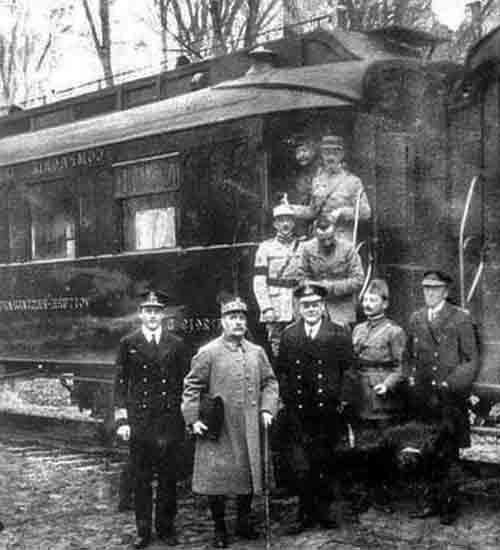 El Tratado de Versalles fue firmado en el vagón 2419-D