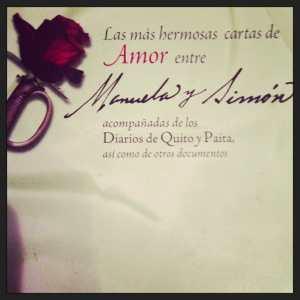 Portada del Libro Las mas bellas cartas de amor entre Manuela y Simón