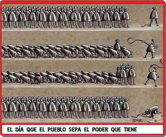 alzamiento contra la represion