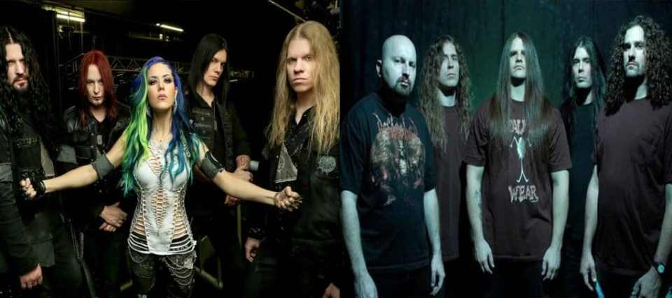 arch enemy y cannibal corpse