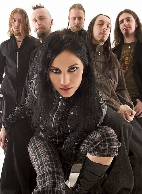 Banda metal alternativo lacuna coil