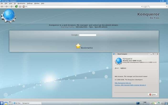 navegador konkeror