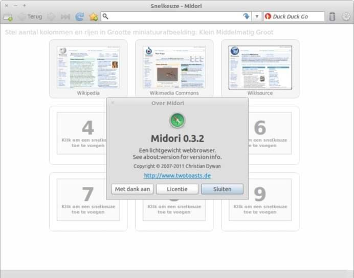 navegador midori