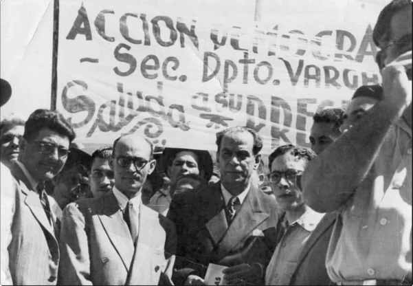 romulo gallegos en campaña