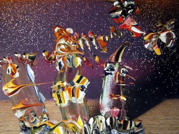 Ejemplo Arte, expresionismo abstracto