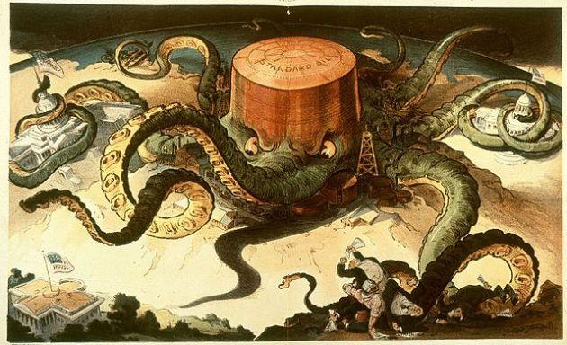 Standard Oil fue un monopolio comercial