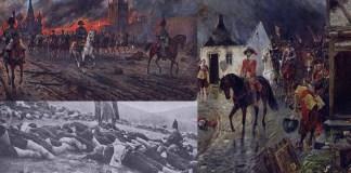que ocurrio con los cuerpos de las guerras napoleonicas