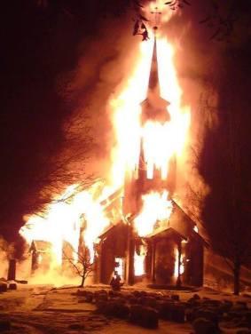 Quema de iglesias