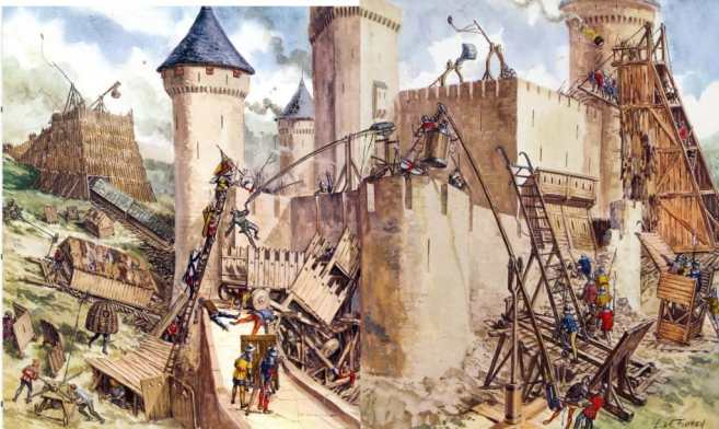 Técnica de asedio medieval