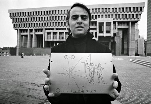 Sagan & Pioneer