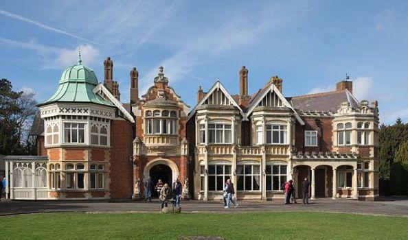 mansion de Bletchey Park enigma