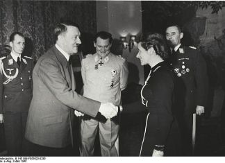 Hanna Reitsch y Hitler