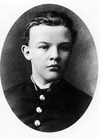 Lenin de niño