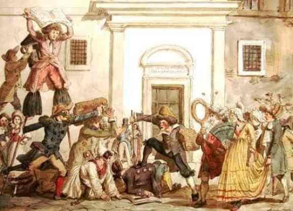Carnaval en la Roma medieval