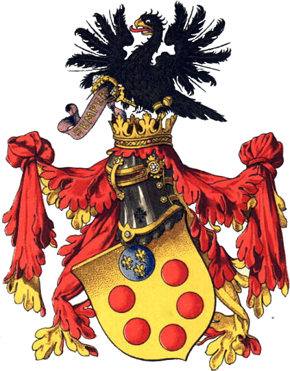 escudo de armas casa medici