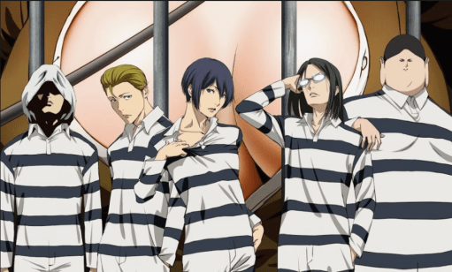 Prison School anime risa
