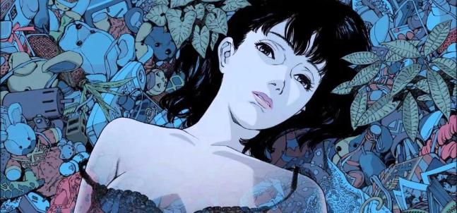 ilustración perfect-blue de satoshi kon