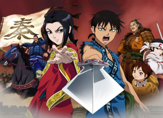 Kingdom anime china
