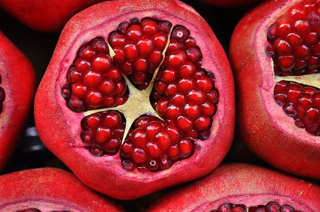 granadas antioxidantes