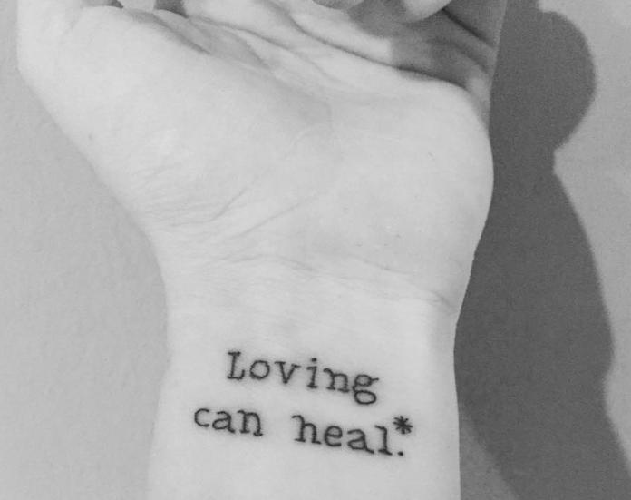 tatuaje con frase en ingles