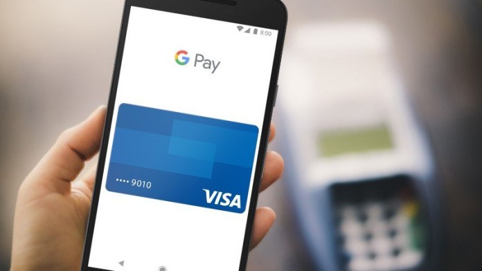 visa compatible con Google Pay