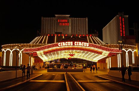 Hotel temático de Las Vegas Circus Circus