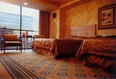 Habitación del Hotel temático de Las Vegas Luxor