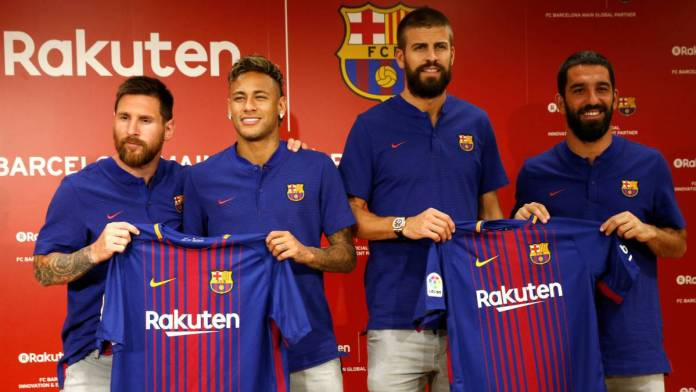 rakuten patrocinante del barcelona