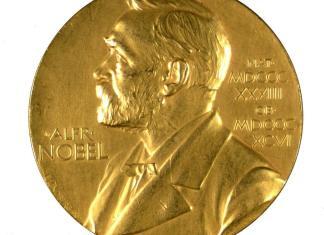 Medalla del Premio Nobel de la Paz, Historia de los premios Nobel