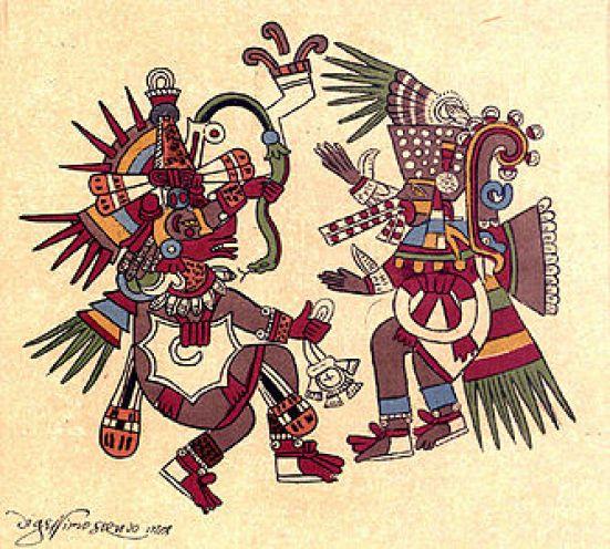 Quetzalcóatl y Tezcatlipoca
