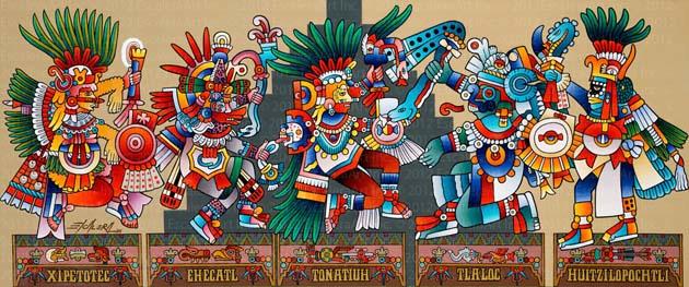 Descubre Lo Relacionado Mundo Espiritual Azteca Dioses