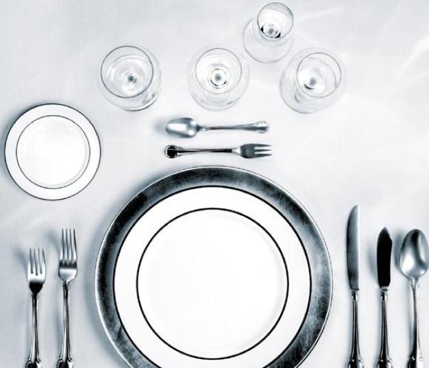 utensilios mesa de comer