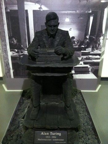 Escultura de Alan Turing