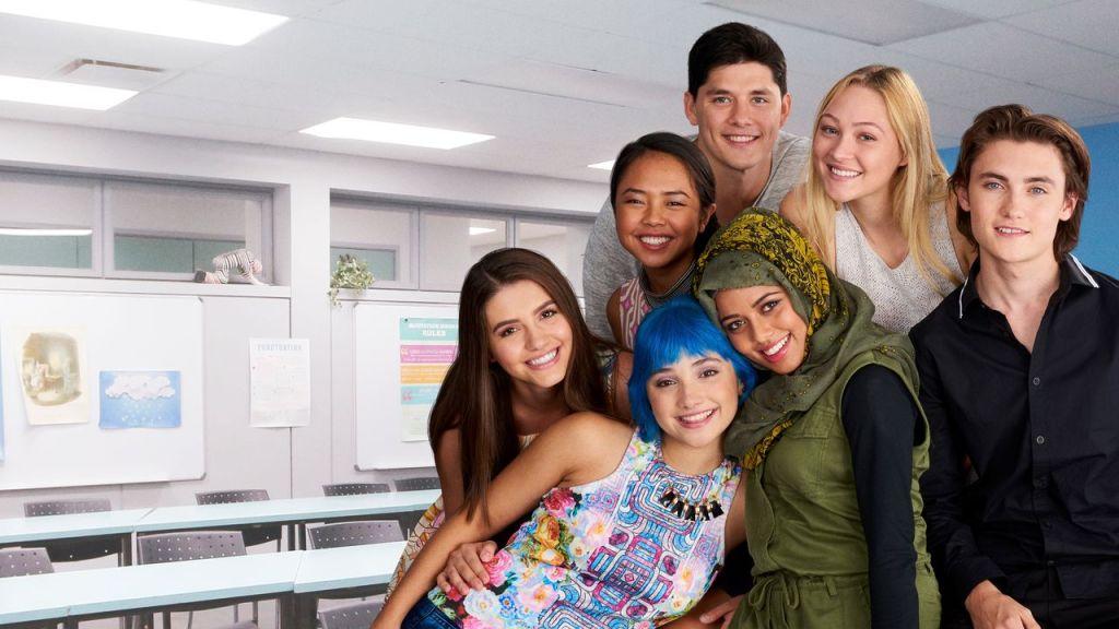 Elenco de la serie Degrassi: Next Class