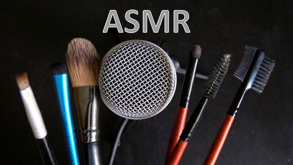 objetos para producir video ASMR