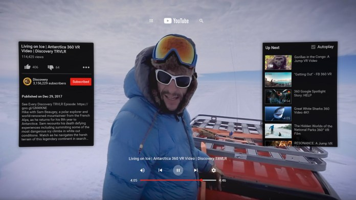 youtube de realidad virtual