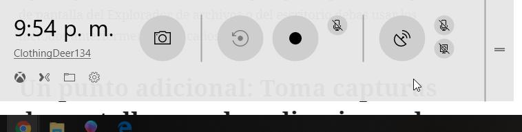 barra de juego de windows
