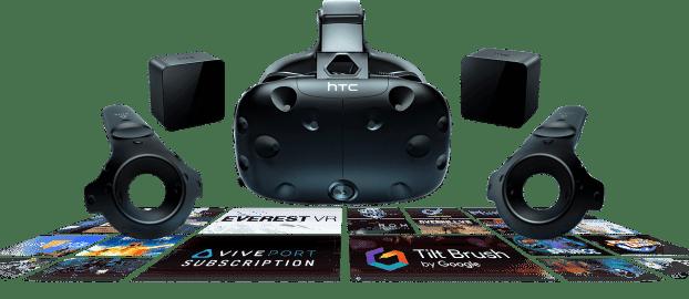 gafas de realidad virtual de ultima generación