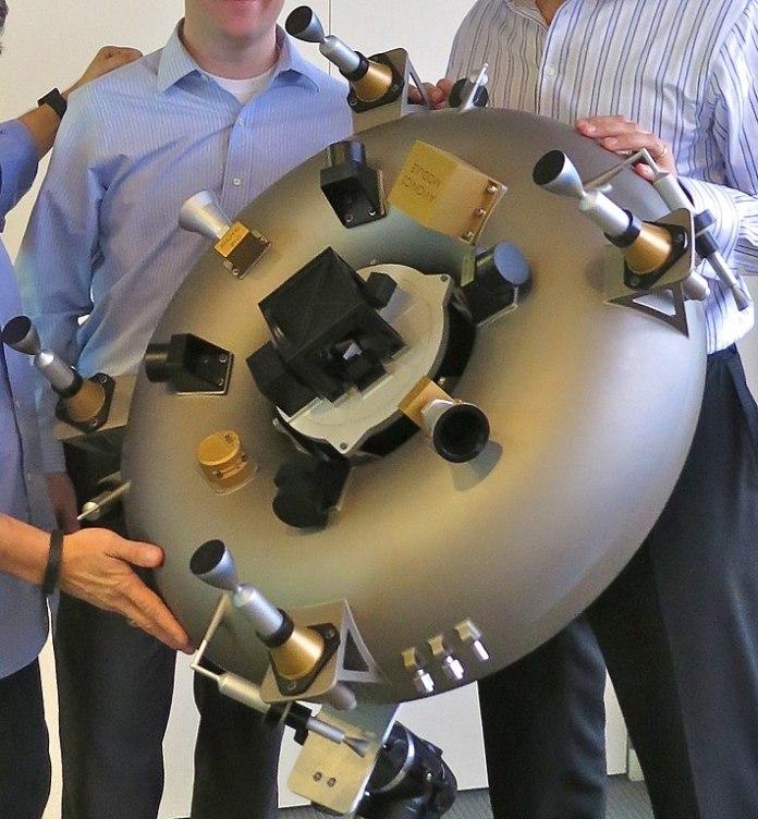 Satélite impreso de Planetary Resources