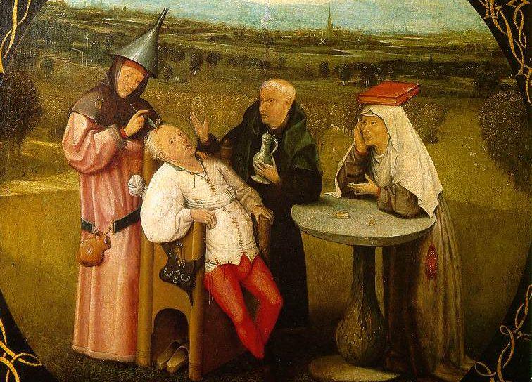 cuadro medieval locura