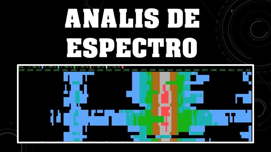 análsisi espectroanálisis