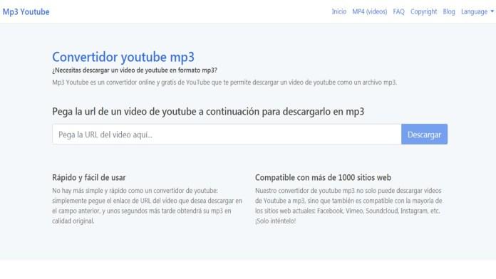 mp3 Youtube un excelente convertidor de Vídeo
