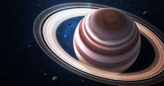 anillos de saturno por maxwell