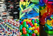 variedad de polímeros